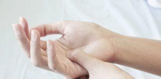 titik refleksi di tangan